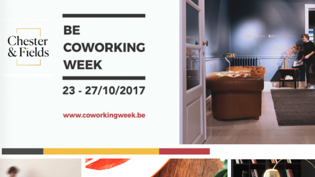 Discover the coworking week at Chester&Fields